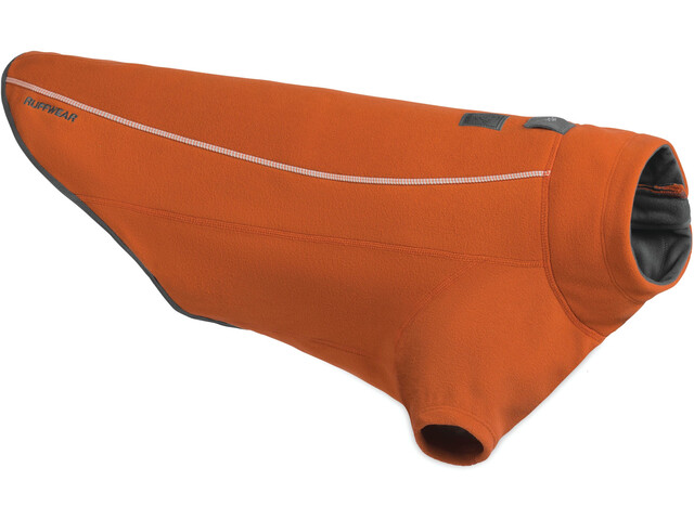 Ruffwear Climate Changer Polaire, canyonlands orange